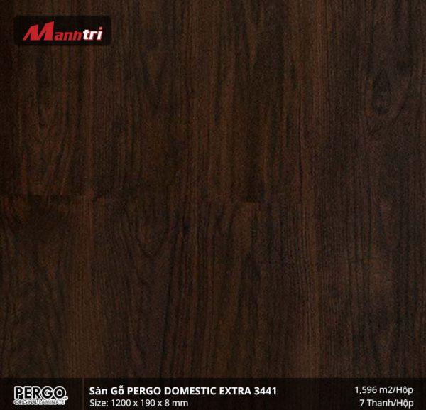 sàn gỗ pergo Domestic Extra 3341 hình 1