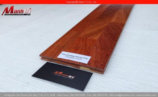 Sàn gỗ tự nhiên Giáng Hương ghép FJL