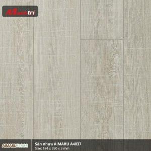 Sàn nhựa Aimaru 3mm A4037
