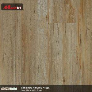 Sàn nhựa Aimaru 3mm A4038