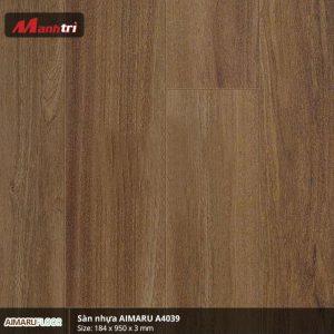 Sàn nhựa Aimaru 3mm A4039