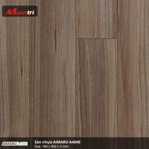 Sàn nhựa Aimaru 3mm A4040