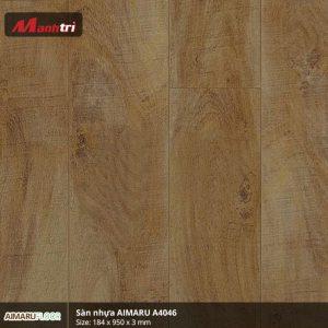 Sàn nhựa Aimaru 3mm A4046