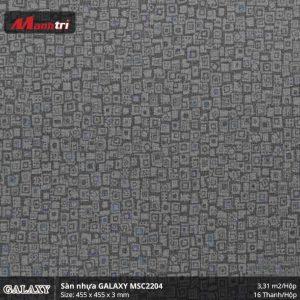 Sàn nhựa vân thảm Galaxy MSC 2204