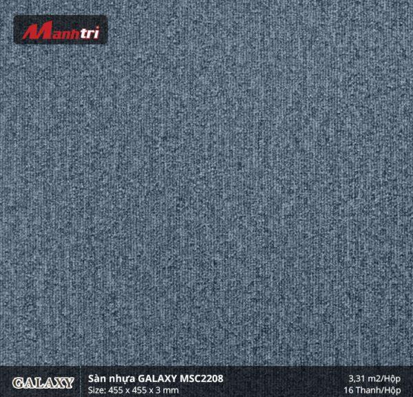 Sàn nhựa vân thảm Galaxy MSC 2208