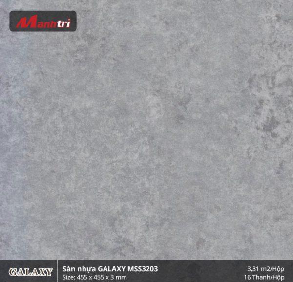 Sàn nhựa giả đá Galaxy MSS 3203
