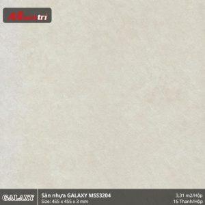 Sàn nhựa giả đá Galaxy MSS 3204