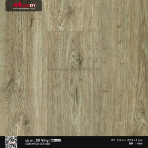 Sàn nhựa giả gỗ 3K Vinyl C2095