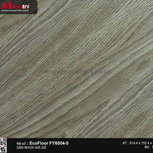Sàn nhựa giả gỗ Ecofloor FY6004-5