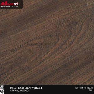 Sàn nhựa giả gỗ Ecofloor FY6024-1