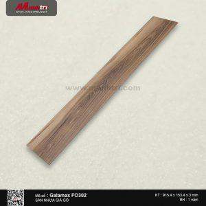 Sàn nhựa giả gỗ Galamax FO302
