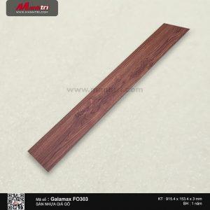 Sàn nhựa giả gỗ Galamax FO303