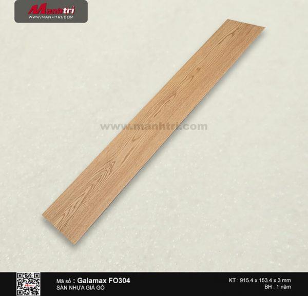 Sàn nhựa giả gỗ Galamax FO304