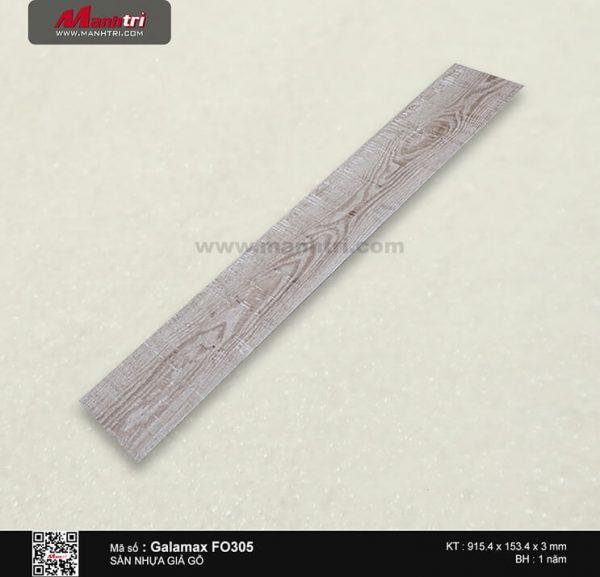 Sàn nhựa giả gỗ Galamax FO305