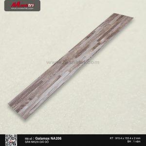Sàn nhựa giả gỗ Galamax NA206