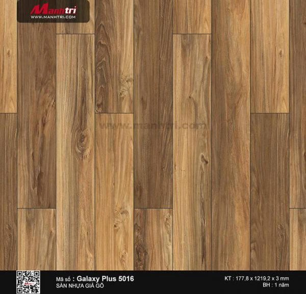 Sàn nhựa giả gỗ Galaxy Plus 5016