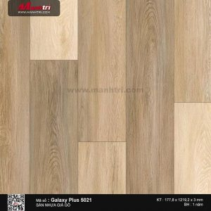 Sàn nhựa giả gỗ Galaxy Plus 5021