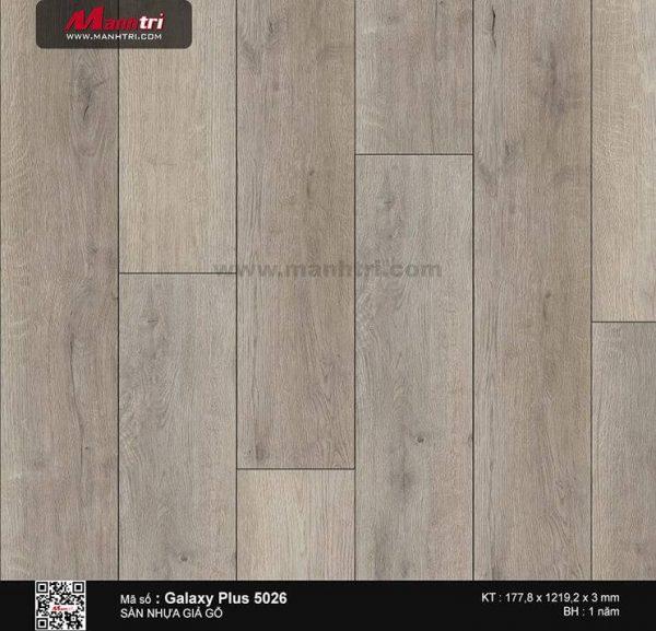Sàn nhựa giả gỗ Galaxy Plus 5026