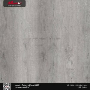 Sàn nhựa giả gỗ Galaxy Plus 5028