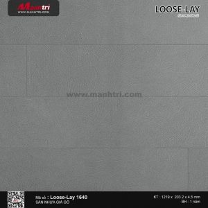Sàn nhựa giả gỗ Loose-Lay 1639