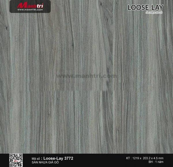 Sàn nhựa giả gỗ Loose-Lay 3772