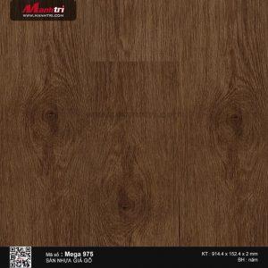 Sàn nhựa giả gỗ Mega 975