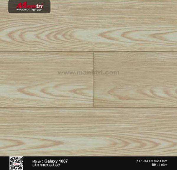 Sàn nhựa giả gỗ Vinyl Galaxy 1007 (2mm)