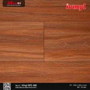 sàn nhựa iVinyl SPC 406
