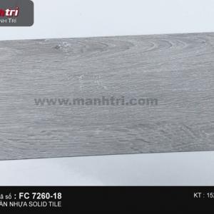 Sàn nhựa Solid Tile FC 7260-18