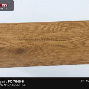 sàn nhựa Solid Tile 7040
