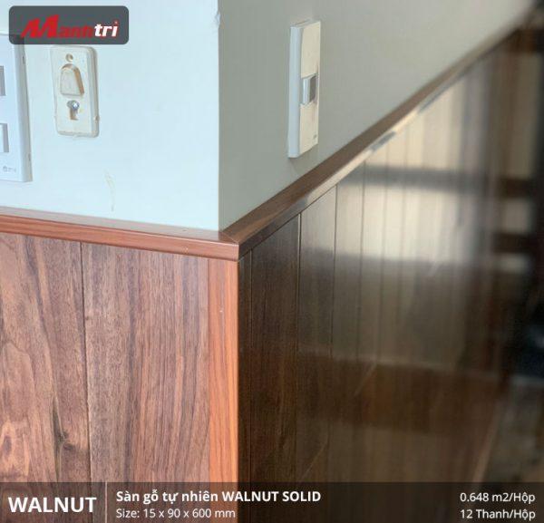 thi công sàn gỗ walnut 600 3