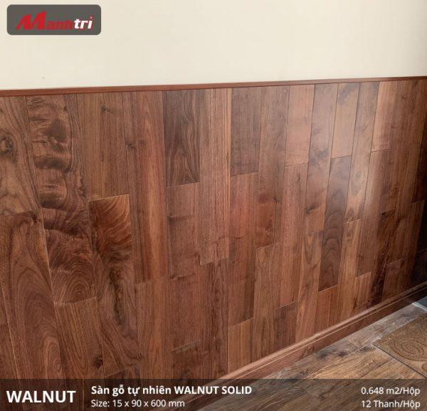thi công sàn gỗ walnut 600 5
