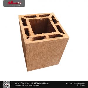 Trụ 120x120 Wood