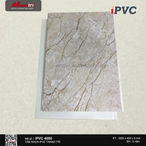 Tấm nhựa iPVC vân đá 4050