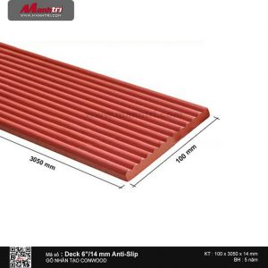 "Sàn gỗ CONWOOD Deck6""14mm Anti-Slip"