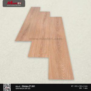 Sàn nhựa giả gỗ Glotex P:361