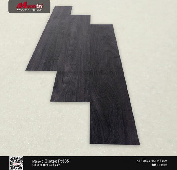 Sàn nhựa giả gỗ Glotex P:365