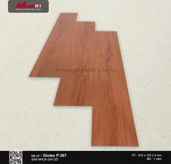 Sàn nhựa giả gỗ Glotex P:367