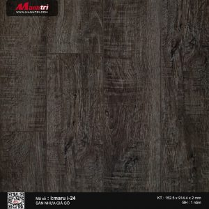 Sàn nhựa giả gỗ i:maru i-24