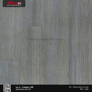 Sàn nhựa giả gỗ i:maru i-30