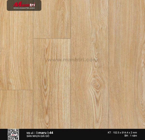 Sàn nhựa giả gỗ i:maru i-44