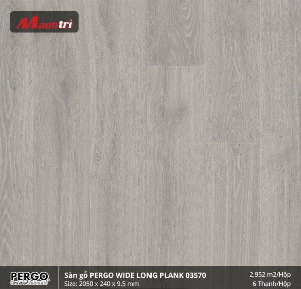 sàn gỗ Pergo Widelongplank 03570 hình 1