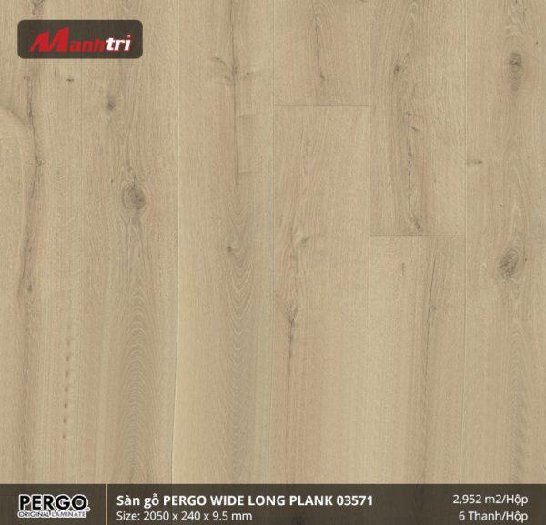 sàn gỗ Pergo Widelongplank 03571 hình 1