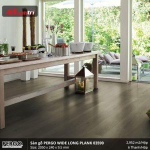 sàn gỗ Pergo Widelongplank 03590 hình 2