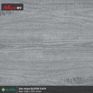 sàn nhựa Glotex 4mm s474 hình 1