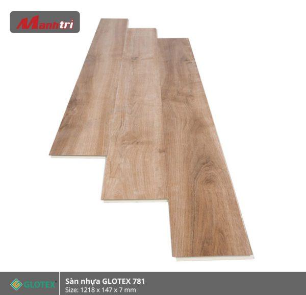 sàn nhựa glotex 781