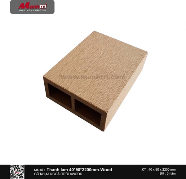 Thanh lam 40x90 Wood