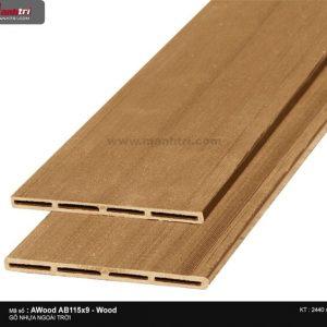 Ốp trần Awood AB115X9-Wood