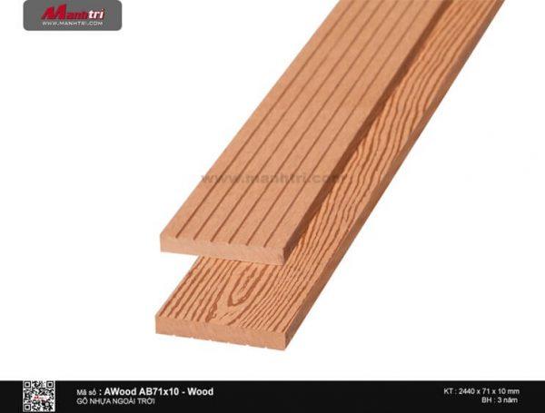 Ốp trần Awood AB71X10-Wood-2