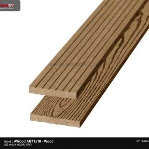 Ốp trần Awood AB71X10-Wood-1